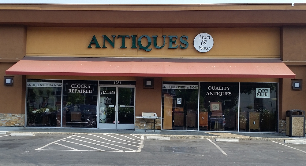 Antiques Then and Now